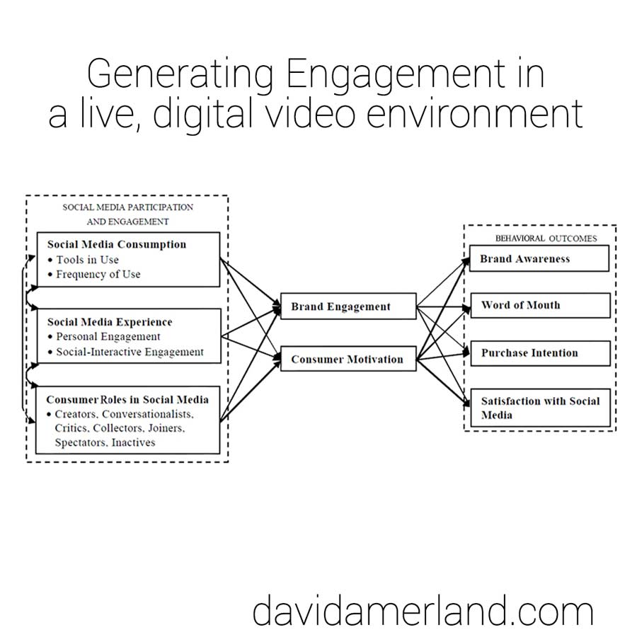 The Rules for Generating Engagement in Digital Video Environments